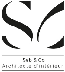 logo sab and co architecte d interieurg