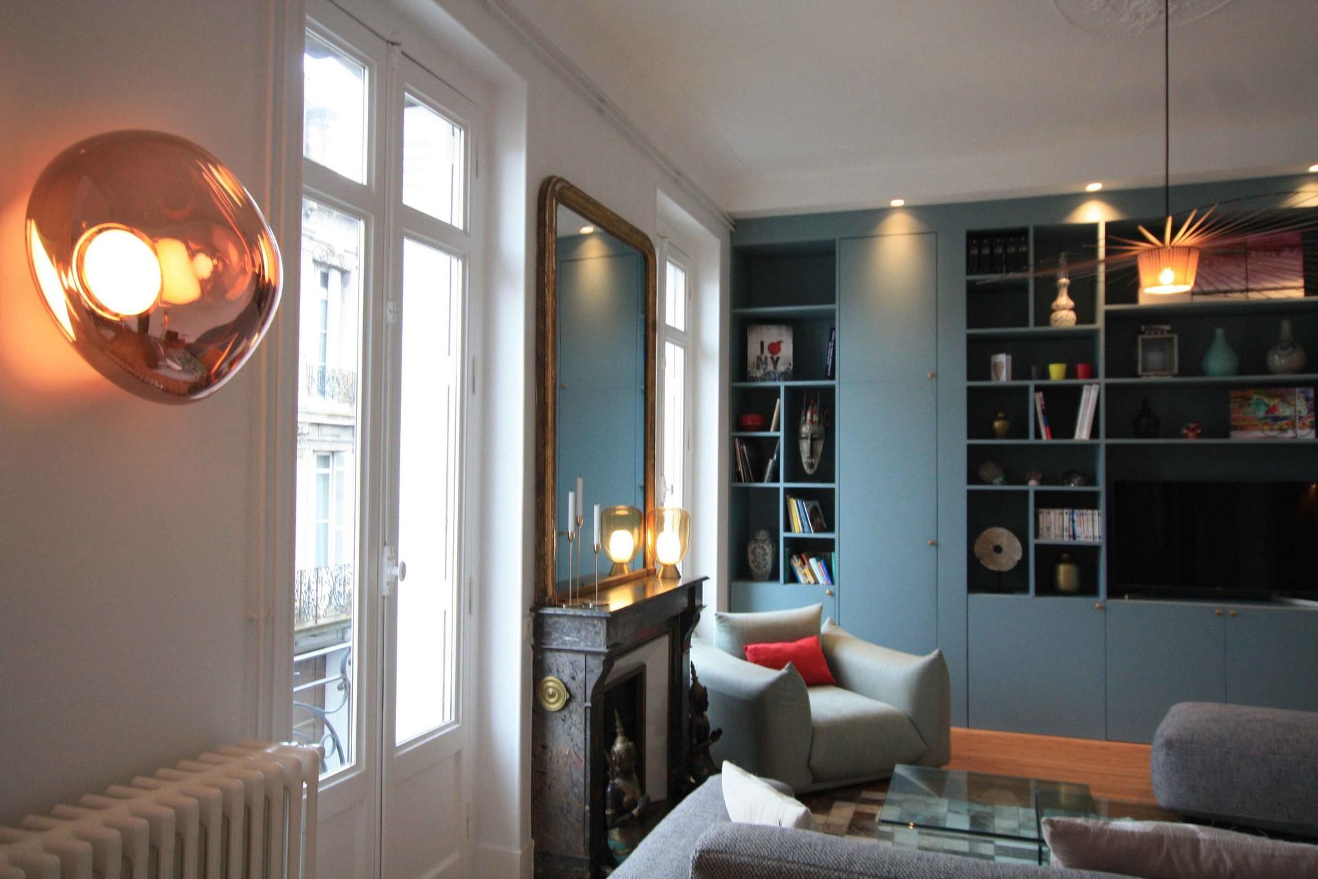 Rénovation appartement de prestige à Bordeaux